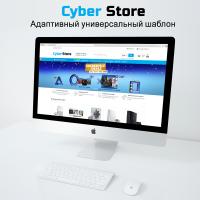 CyberStore - адаптивный универсальный шаблон + Быстрый Старт