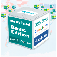 Google Merchant Center - модуль manyFeed 5 Basic Edit., создание фида для Google Merchant Center, Facebook, Инстаграм для OpenCart