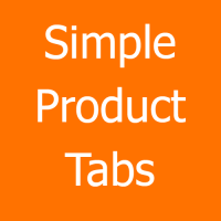 Simple Product Tabs
