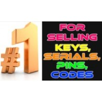 Расширение для продажи ключей, серийников, пин-кодов