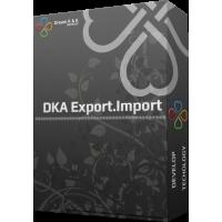 DKA Export.Import opencart 2.x.x (EXCEL)