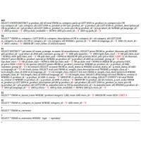Анализатор интенсивности SQL запросов