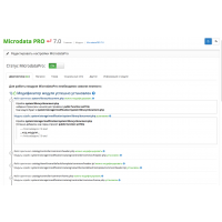 Микроразметка (application/ld+json / microdata) PRO 7.3