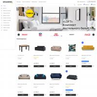 «Megamebel» шаблон мебельного магазина для Opencart 3