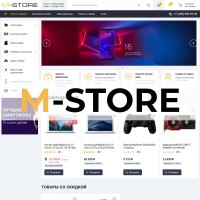 M-STORE - адаптивный шаблон для ocstore 2.3