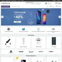 Litestore - адаптивный шаблон для Opencart