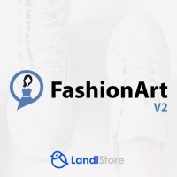 FashionArt V2 - шаблон сайта магазина одежды