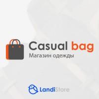 CasualBag - лёгкий и адаптивный шаблон для магазина одежды