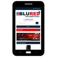 BLURED 3 - Универсальный адаптированный шаблон для Opencart 3