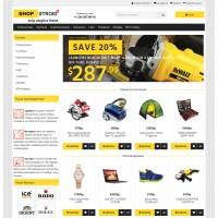 SHOPSTROID 3 - Универсальный адаптированный шаблон для Opencart 3