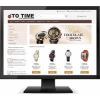TO TIME - Универсальный адаптированный шаблон для Opencart 3