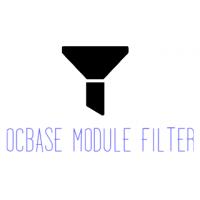 Фильтрация модулей в административной части