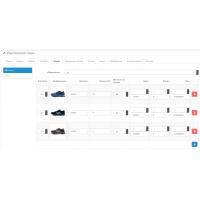 Опции с вводом количества, артикулом и изображением OC2 (OCMOD)