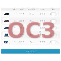 [OC3] Опции с вводом количества, артикулом и изображением