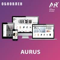 Aurus - адаптивный, универсальный шаблон