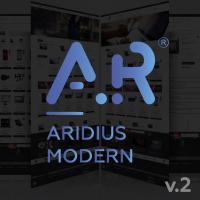 Адаптивный, многомодульный шаблон Aridius Modern v.2