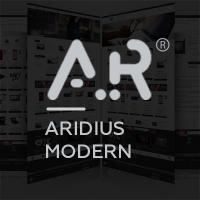 Адаптивный, многомодульный шаблон Aridius Modern