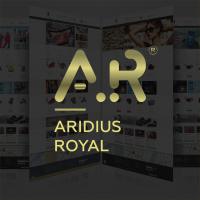 Адаптивный, многомодульный шаблон Aridius Royal для OpenCart 3.x