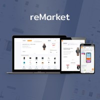 ReMarket - адаптивный универсальный шаблон  (v 1.0.8)