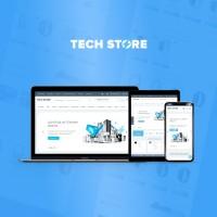 TechStore - адаптивный универсальный шаблон (v 3.2)