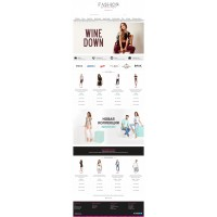 Fashion - адаптивный шаблон для OcStore 2.3 и OpenCart 2.3