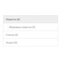 OptimBlog модуль - Категории статей