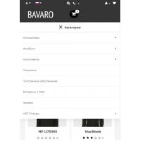 Универсальный адаптивный шаблон Bavaro (OcStore v.2.3)