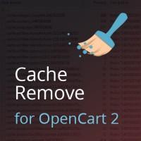 Очистка кеша для OpenCart 2