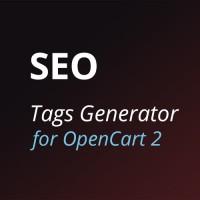 Генератор SEO-тегов (SEO Tags Generator) для OpenCart 2.x