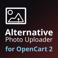 Alternative Photo Uploader для OpenCart 2