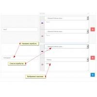 Быстрое редактирование и добавление атрибутов и копирование опций