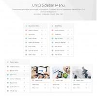 UniQ Sidebar Menu - многофункциональный модуль вертикального меню
