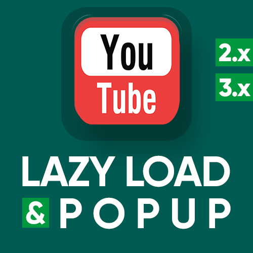 YouTube lazy load & popup - оптимизация и кастомизация iframe